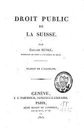 Droit public de la Suisse