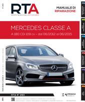 Manuale di riparazione Mercedes Classe A (W176): A 180 CDi 109 cv - RTA283