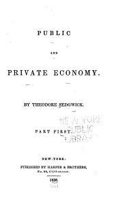 Public and Private Economy: Part 1