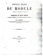 Nouvelle théorie du module: déduite du texte méme de Vítruve et application de cette théorie a quelques monuments de l'antiquité grecque et romaine