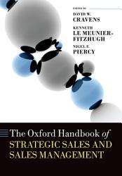 The Oxford Handbook of Strategic Sales and Sales Management PDF