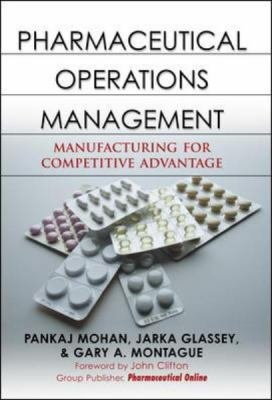 Pharmaceutical Operations Management PDF