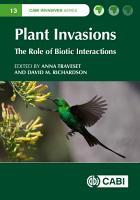Plant Invasions PDF