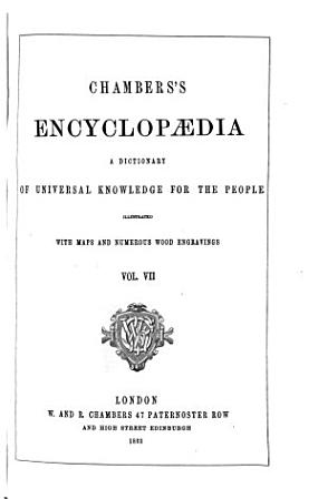 Chambers s Encyclopaedia  Numismatics Puerperal Mania PDF