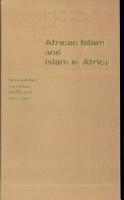 African Islam and Islam in Africa PDF