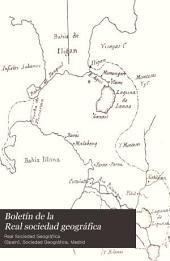 Boletín de la Real sociedad geográfica: Volúmenes 36-37