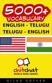 5000+ English - Telugu Telugu - English Vocabulary