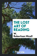 The Lost Art of Reading PDF