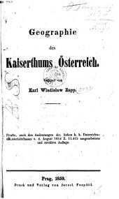 Geographie des Kaiserthums Österreich