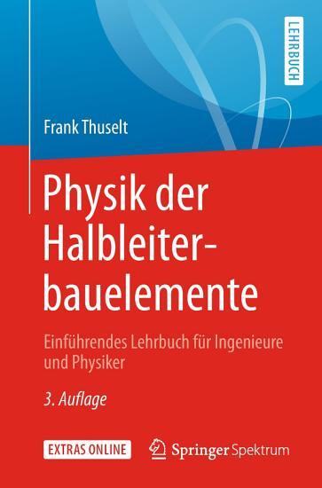 Physik der Halbleiterbauelemente PDF
