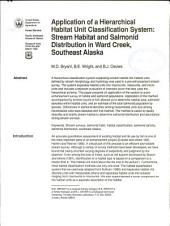 Application of a hierarchical habitat unit classification system: stream habitat and salmonid distribution in Ward Creek, southeast Alaska