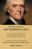 Debunking David Barton s Jefferson Lies