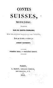 Contes suisses: Volume1