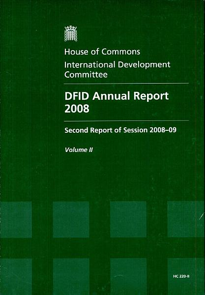 Dfid Annual Report 2008