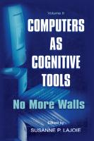 Computers As Cognitive Tools PDF