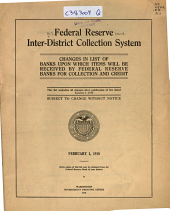 Federal Reserve Inter-district Collection System