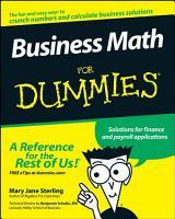 Business Math For Dummies PDF