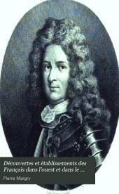 Découverte par mer des bouches du Mississipi et établissements de Lemoyne d'Iberville sur le golfe du Méxique (1694-1703)