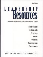 Leadership Resources: A Guide to Training and Development Tools