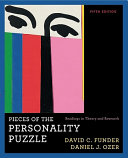 Pieces of the Personality Puzzle Book