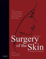 Surgery of the Skin E Book PDF