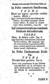 Concionator Extemporaneus In Dominicas Et Festa Per Annum: Pro Festis Per Annum. 2,2