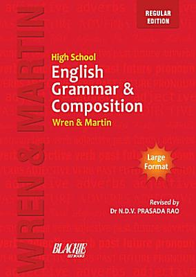 High School English Grammar And Composition Book Multicolour Edition