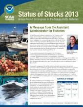 The Status of US Fisheries 1997-2013: Collection of Annual Reports to Congress by NOAA Fisheries
