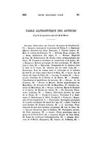 Eclogae geologicae Helvetiae: Volume 4
