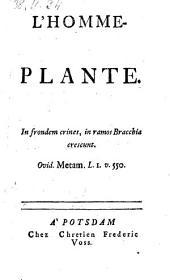 L'homme plante