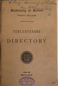 Pamphlets on the Tercentenary Celebration PDF