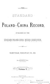 Standard Poland-China Record: Volume 5