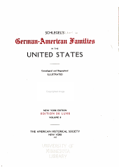Schlegel's German-American families in the United States: genealogical and biographical, illustrated, Volume 2