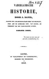 Vaderlandsche historie: Volume 1