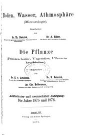 Jahresbericht fur Agrikultur-Chemie: Bände 18-19