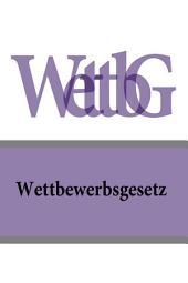 Wettbewerbsgesetz - WettbG