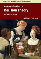 An Introduction to Decision Theory PDF