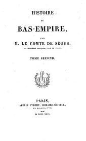 Histoire du Bas-Empire