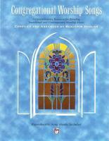 Congregational Worship Songs PDF