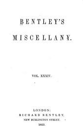 Bentley's Miscellany: Volume 34
