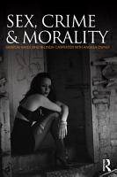 Sex  Crime and Morality PDF