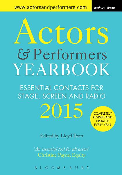 Actors and Performers Yearbook 2015 PDF