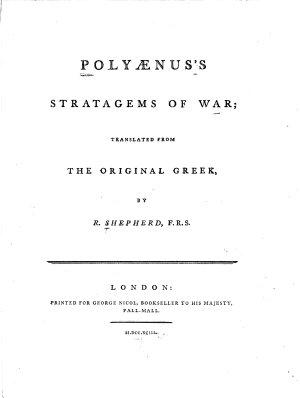 Polyænus's Stratagems of War