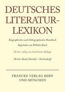Deutsches Literatur Lexikon