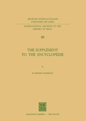 Download The Suppl  ment to the Encyclop  die Book