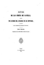 Actas de las Cortes de Castilla: Volumen 3