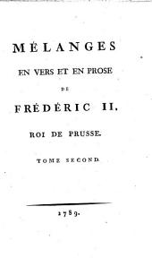 Oeuvres posthumes de Frédéric II.: Volume 12