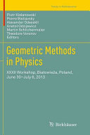 Geometric Methods in Physics PDF