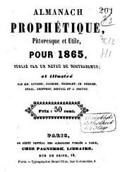 Almanach prophétique, pittoresque et utile pour ...: Volume15