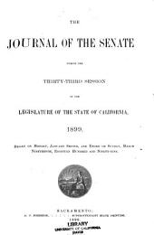 Journal of the Senate and Assembly During the ... Session of the Legislature of the State of California